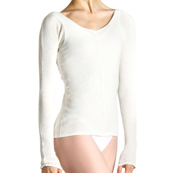 Z0105 – Bloch Kara Long Sleeve V Womens Top