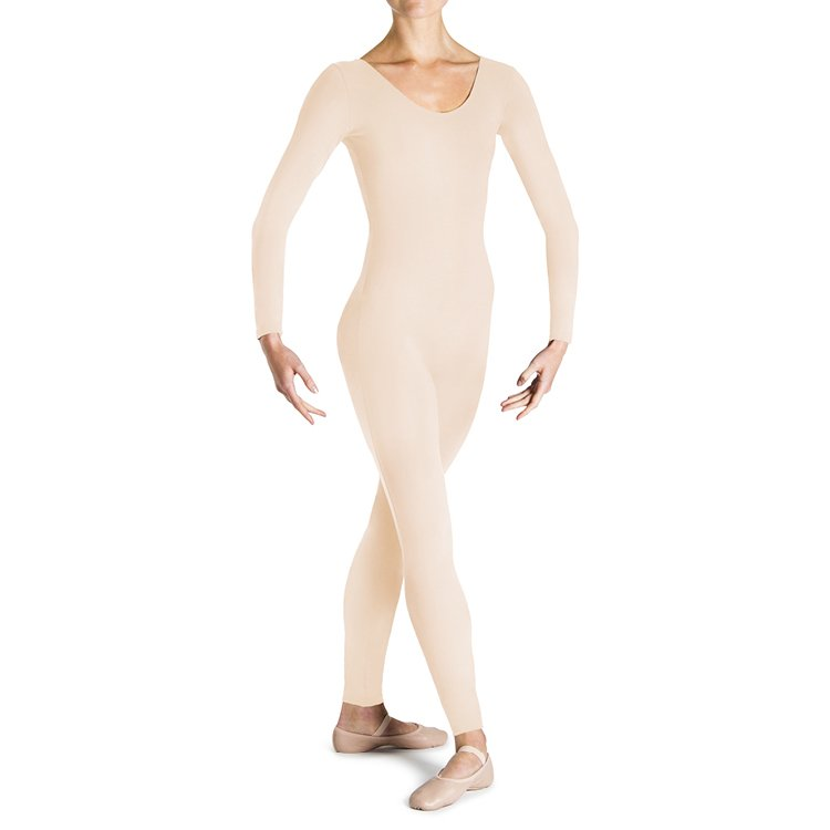 U3479 – Bloch Eugene Long Sleeve Scoop Womens Unitard
