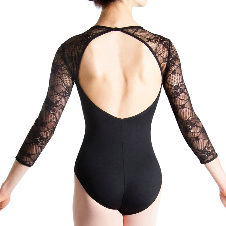 L56016 - Bloch Kate 3/4 Womens Sleeve Lace Leotard