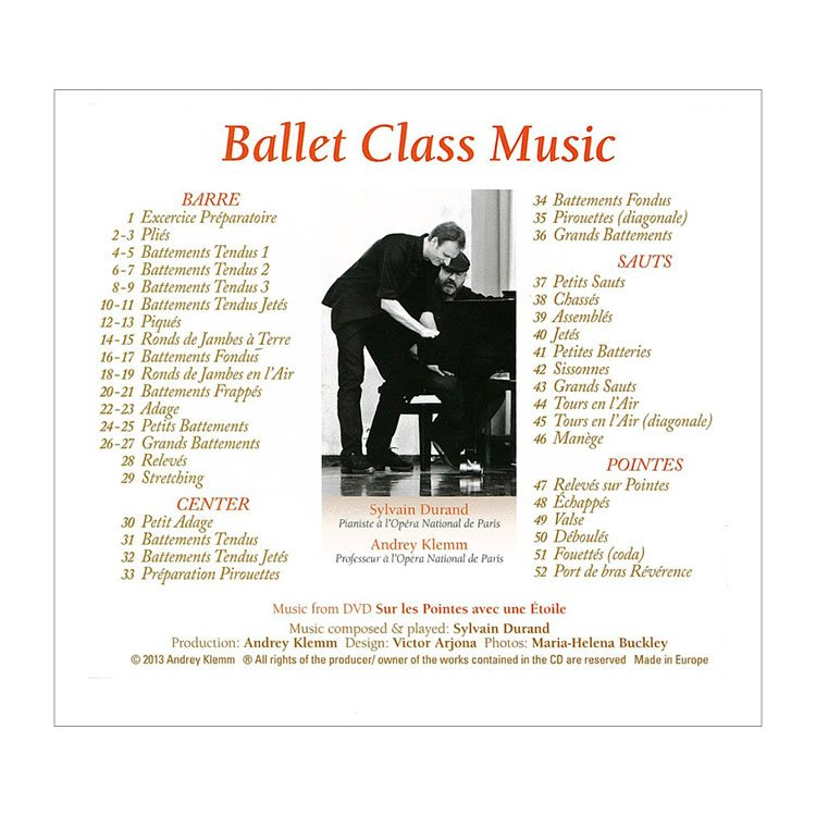 720000 – CD Ballet Class Music With Andrey Klemm