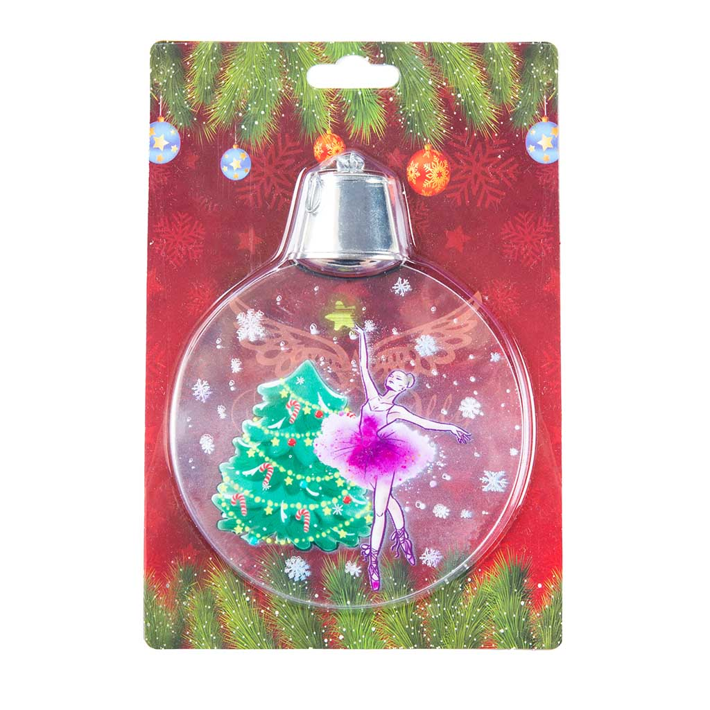 90701T - Light Up Ballet Ornament Tree