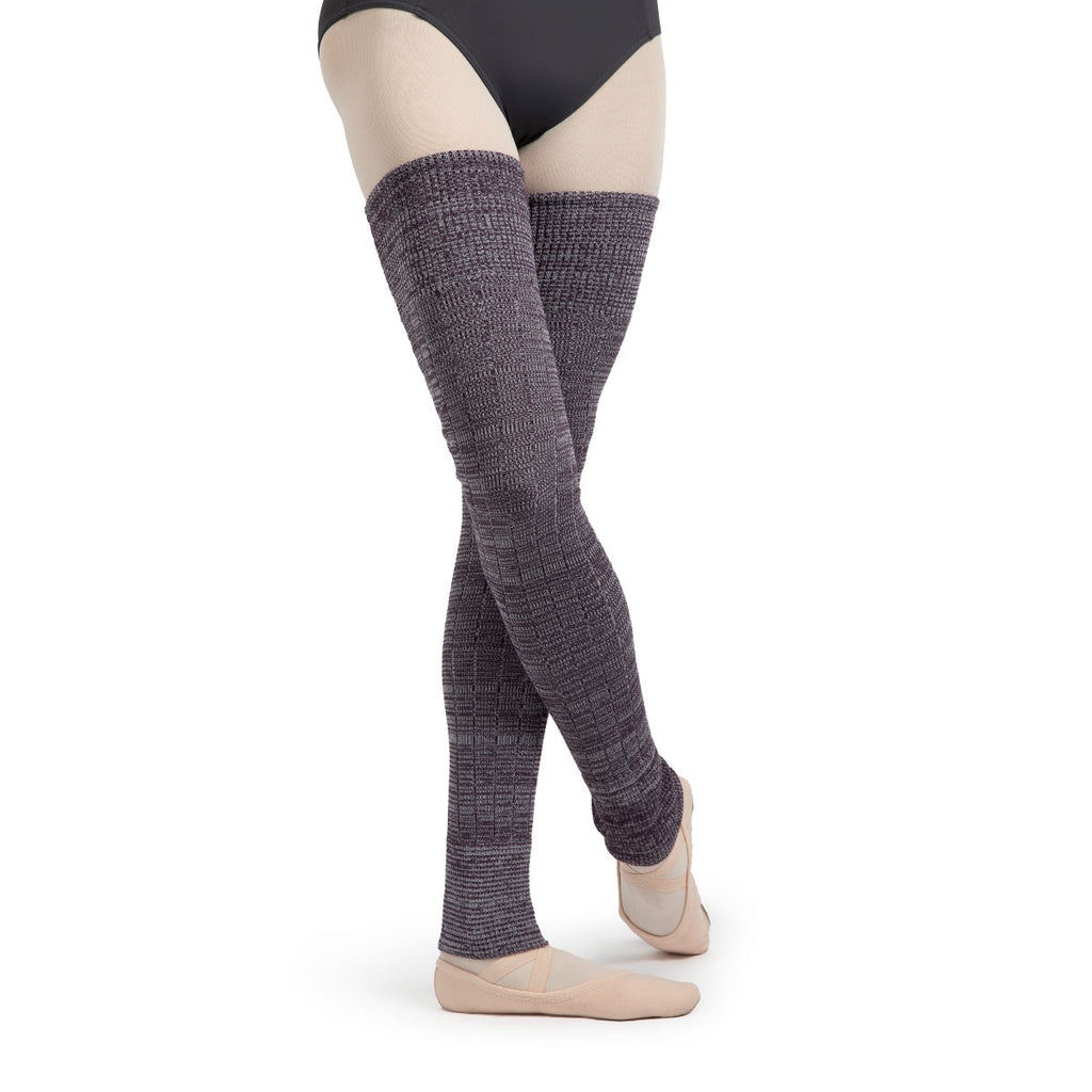 A0109 - Bloch X Knit Long Ribbed Legwarmers