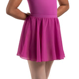 A0305G - Bloch Chayanne Chiffon Short Circle Girls Skirt