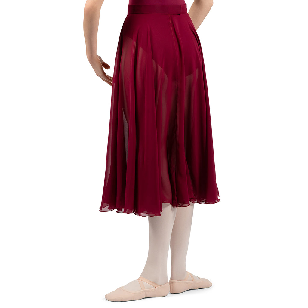 A0320L – Bloch Charlyn Full Circle Chiffon Womens Skirt