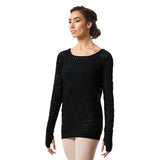 Z55529 - Bloch Shina Textured Knit Long Sleeve Womens Sweater