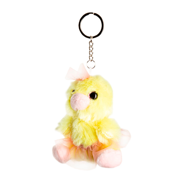 90066 – Ballerina Buddies Chicken Keyring