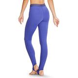TS5123G - Bloch Desmina Stripe Elastic V Waist Full Length Girls Stirrup Legging