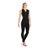 US55107 - Bloch Fifille Zip Front Hooded Open Back Womens Unitard