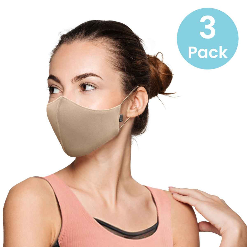 A5001AP - Bloch Adult Face Mask 3 Pack