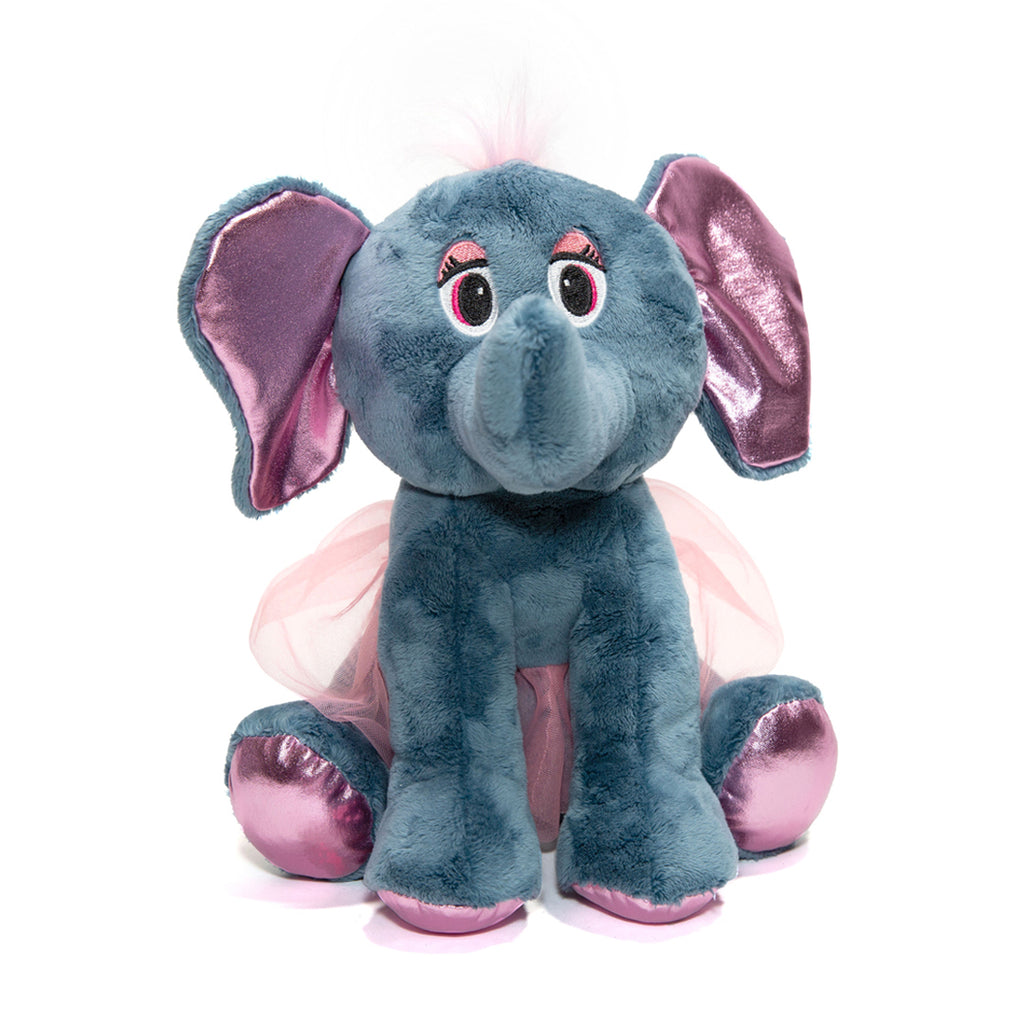 90060 - Ballerina Elephant Plush Toy