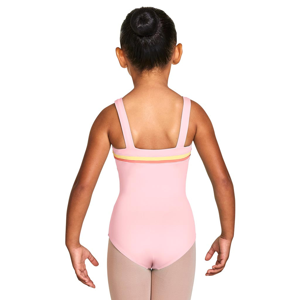 L58797G - Bloch Teagan Gelato Sweetheart Front Girls Wide Strap Leotard