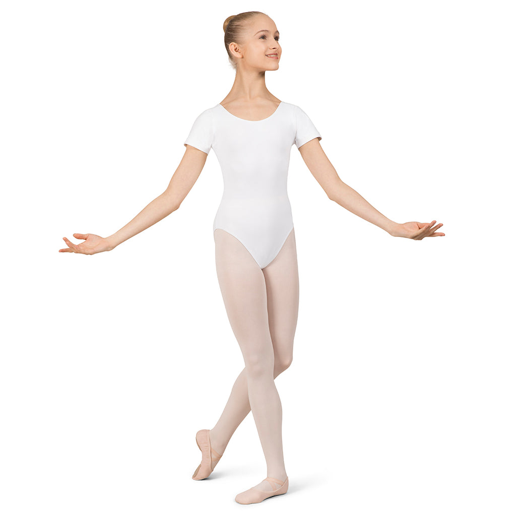 L0802L - Bloch Overture Olisia Short Sleeve Womens Leotard