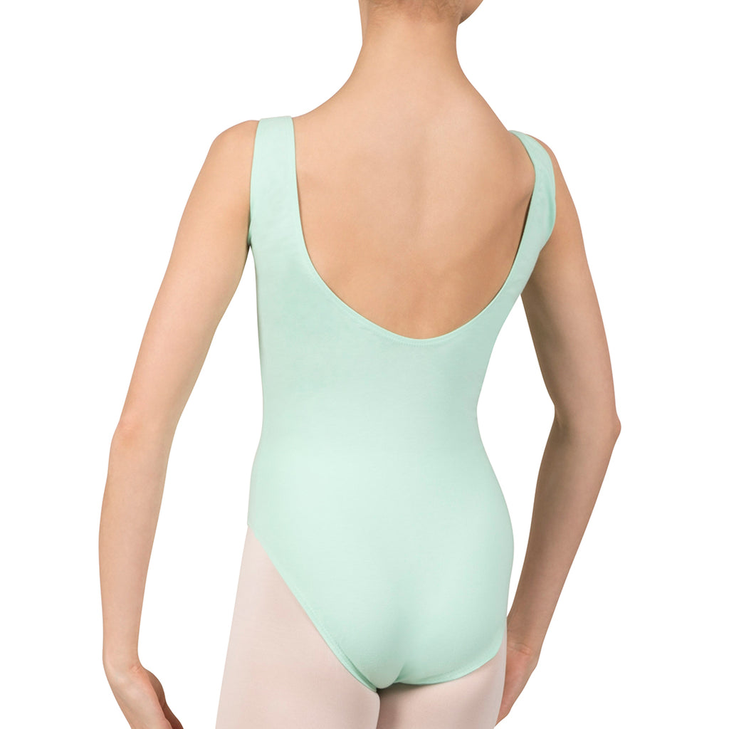 L3488LAB - Bloch Gathered Front With Low Back Womens Leotard