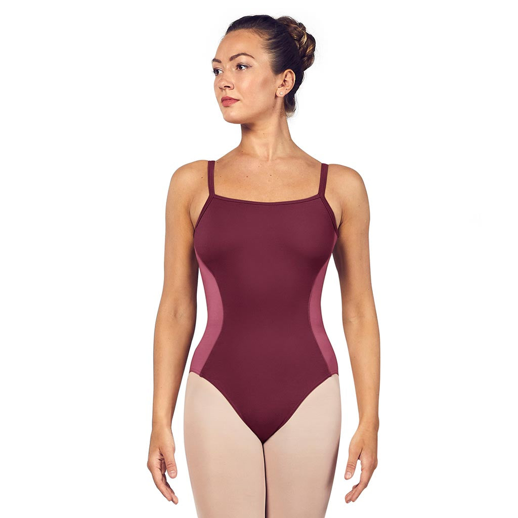 L54917 - Bloch Naila Scoop Neck Open Back Womens Camisole Leotard