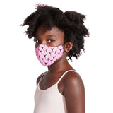 A5005C - Bloch B-Safe Childrens Print Lanyard Face Mask Single