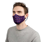 A5005A - Bloch B-Safe Adult Print Lanyard Face Mask Single