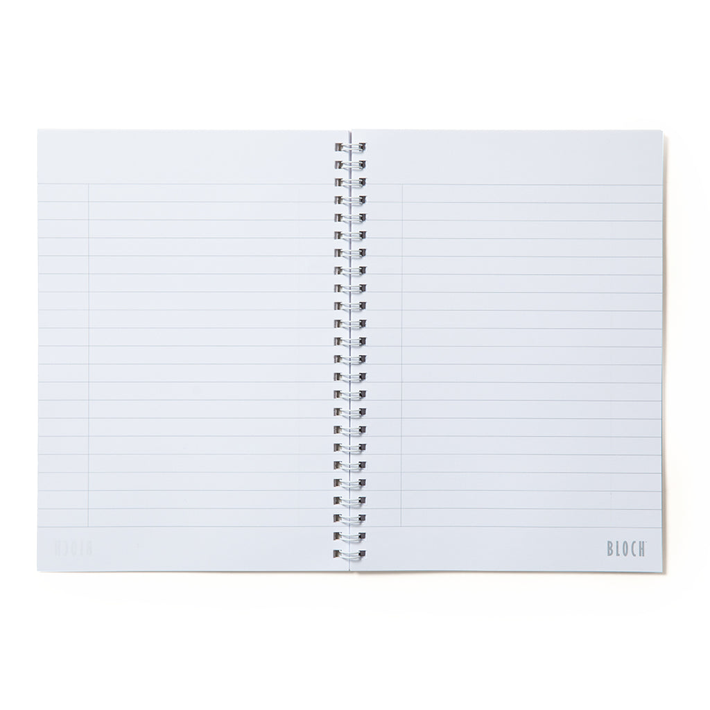 12001 - Bloch Ballerina Spiral A5 Notebook