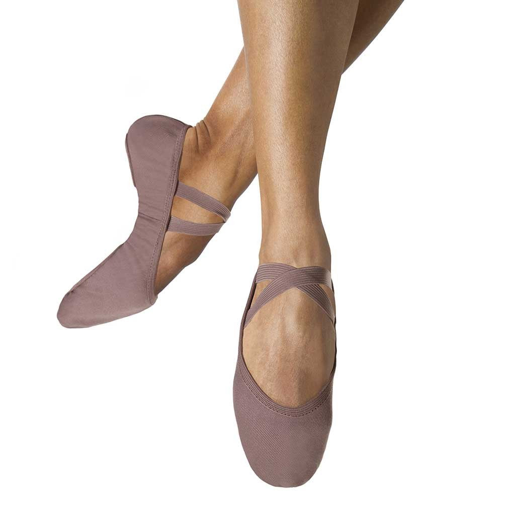 S0284M – Bloch Performa Stretch Canvas Mens Ballet Flat