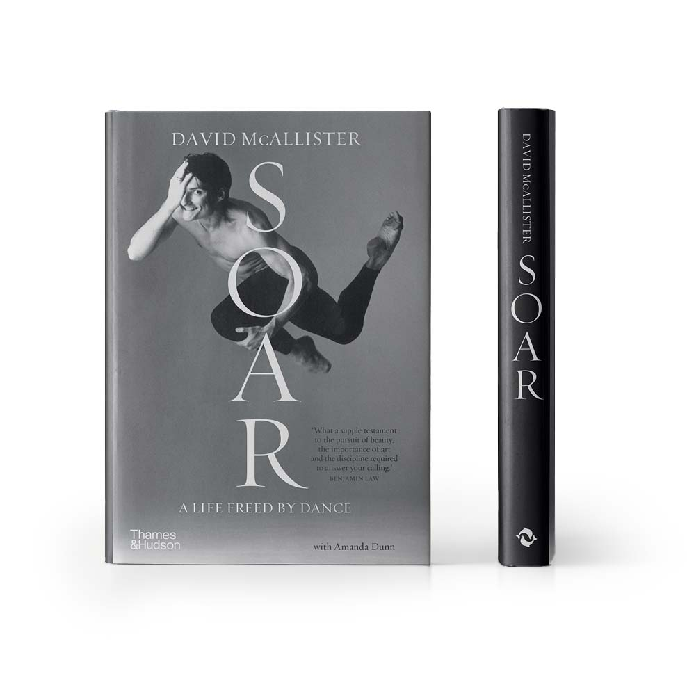 10137 - SOAR: A Life Freed By Dance A Memoir By David McAllister Hardback Book