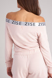 JZ50094 - Zise Jeri Ballet Neck Sweathirt