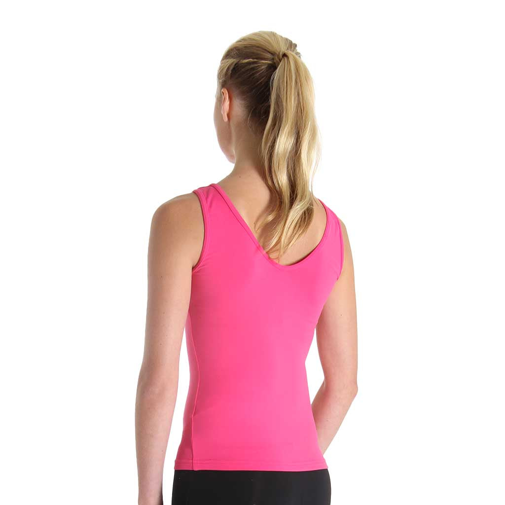 ZF5818 - Bloch V Front Womens Tank Top