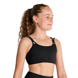 ZK5030G - Kaia Double Strap Open Back Girls Crop Top