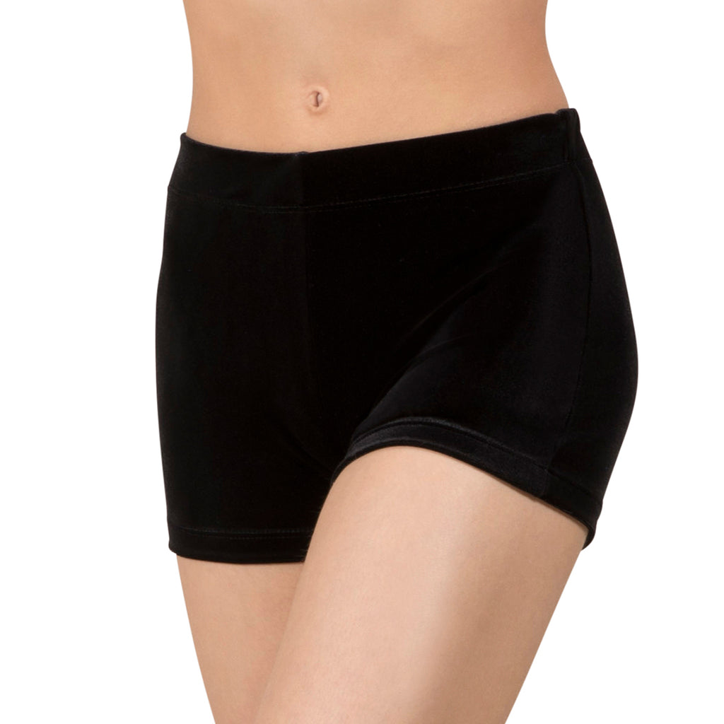 DL5139 - Leo Basic Velvet Fitted Micro Short