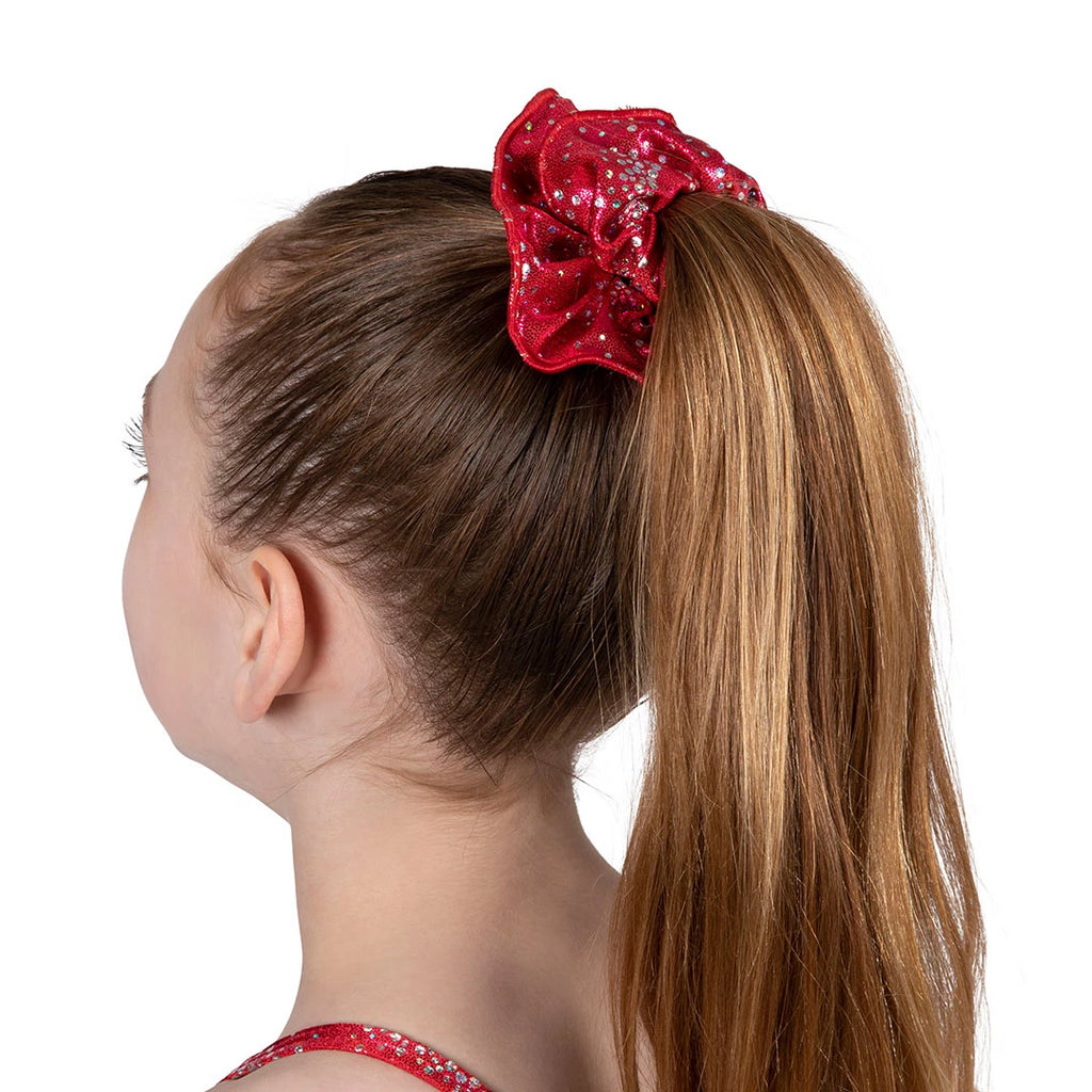 A0323 - Bloch Lurex Foil Scrunchie