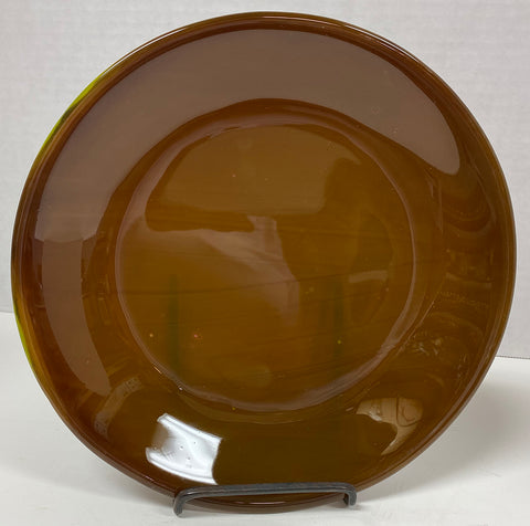 Bowl - Brown Stacked Glass