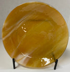 Bowl - Harvest Gold Stacked Glass