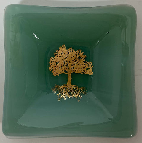 Plate - Seafoam Tree of Life