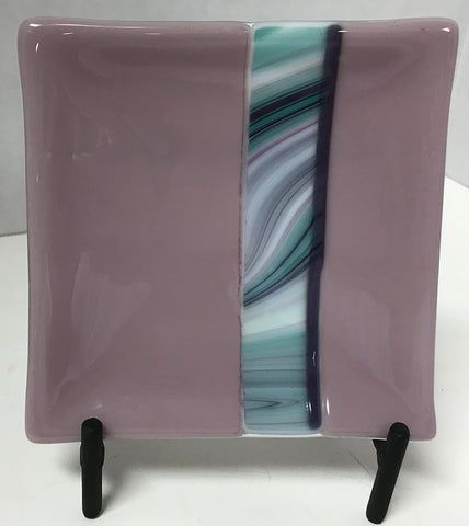 Plate - Purple Mauve Blue