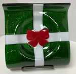Candy Dish - Green Present