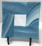 Plate - Mariner Blue with White Center