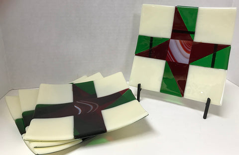 Plate - Quilters (4 piece set)