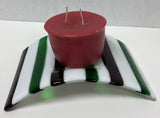 Candle Holder - Candy Stripe