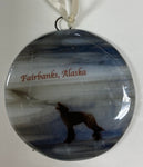 Ornament - Fairbanks - Wolf