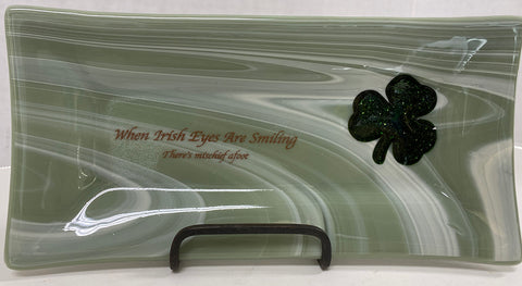 Tray - When Irish Eyes are Smiling