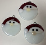 Ornament - Santa Snowball