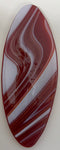 Tray - Oval Red Streaky