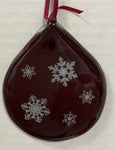 Ornament - Red Snowflakes