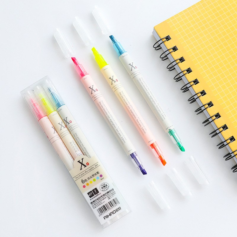 Two Color Highlighter (Set of 3)