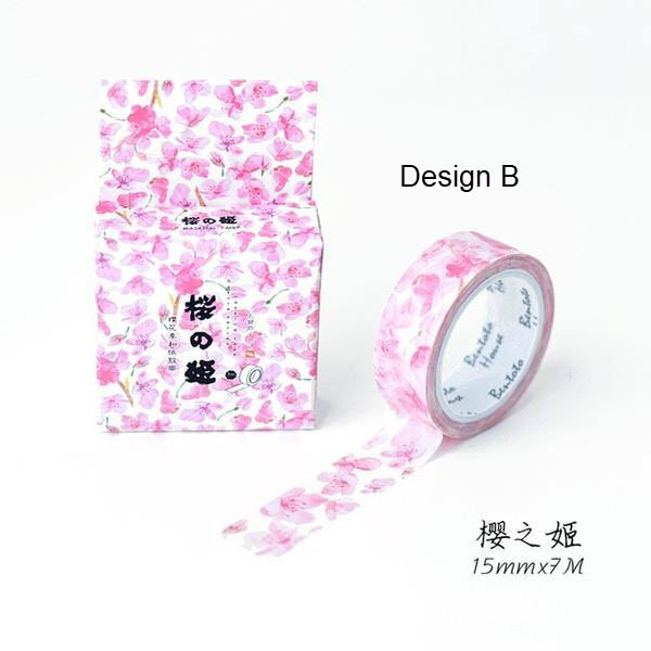 Cherry Blossoms Washi Tape