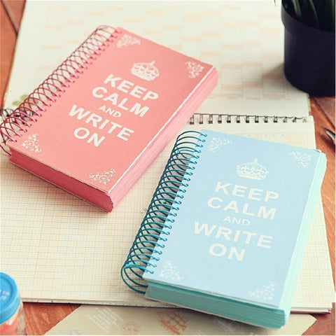 Keep Calm Spiral Notebook