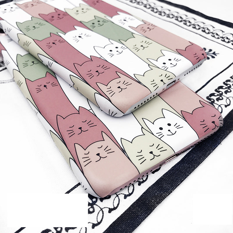 Kawaii Cat iPhone Case