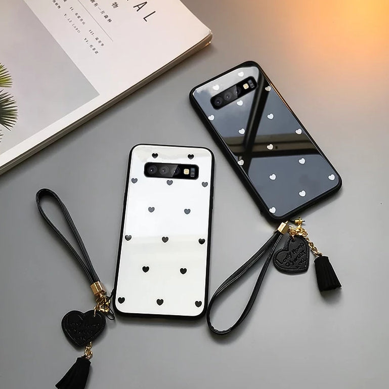 Black & White Love Samsung Case