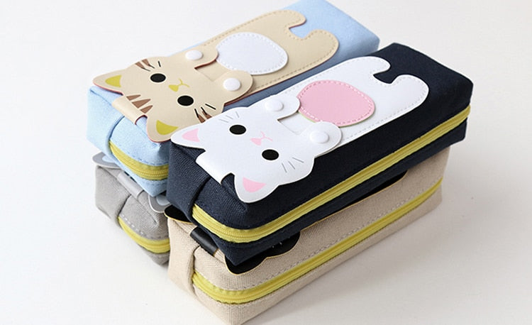 Kawaii Cat Pencil Case