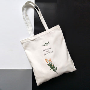 Spring & Summer Tote Bag