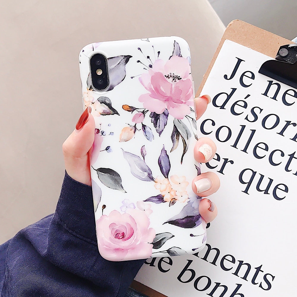 Elegant Flower iPhone Case