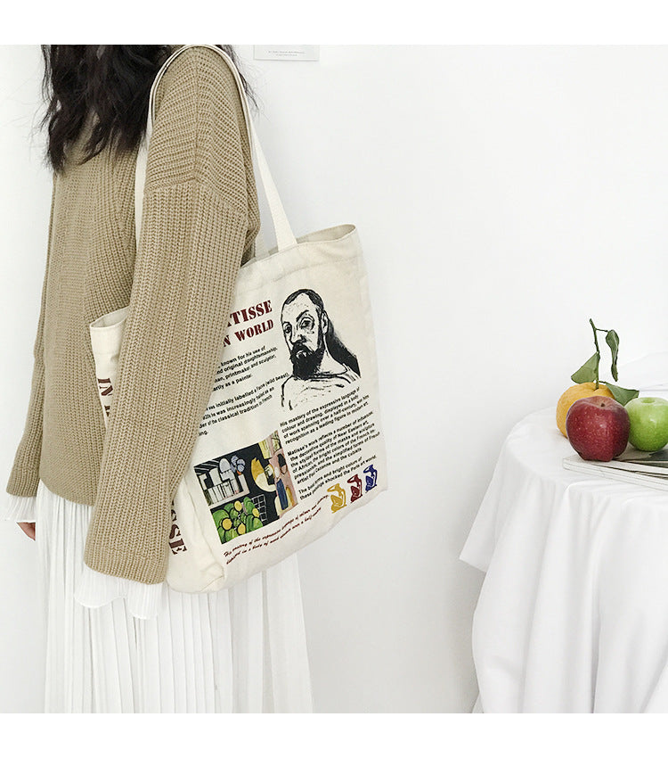 French Artist Tote Bag